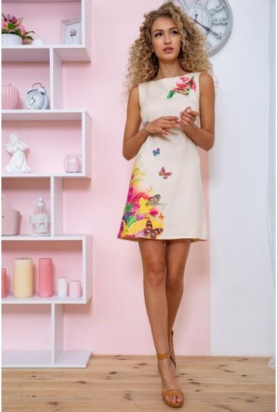 Платье  цвет бежевый 172R017-1 60941