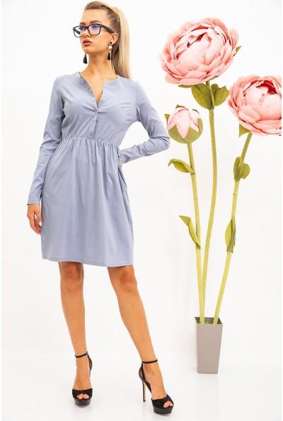 Платье женское 102R066-1 цвет Стальной