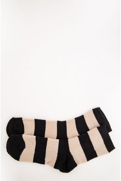 Носки женские 131R113298 цвет Бежево-черный
