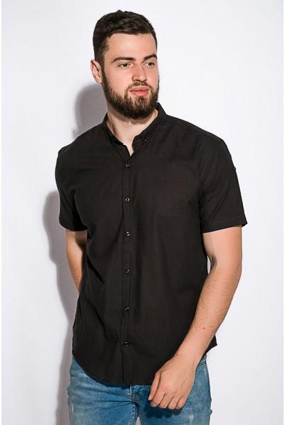 Черная рубашка мужская 511F017