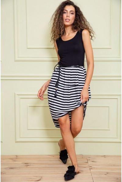 Платье  цвет черно-белый 167R4-7 62922