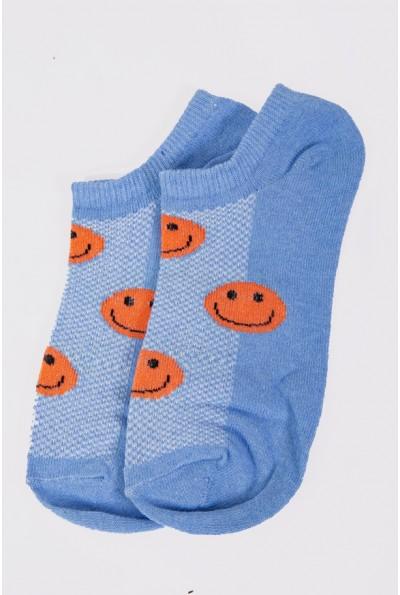 Носки женские короткие 151R102 цвет Голубой 56886