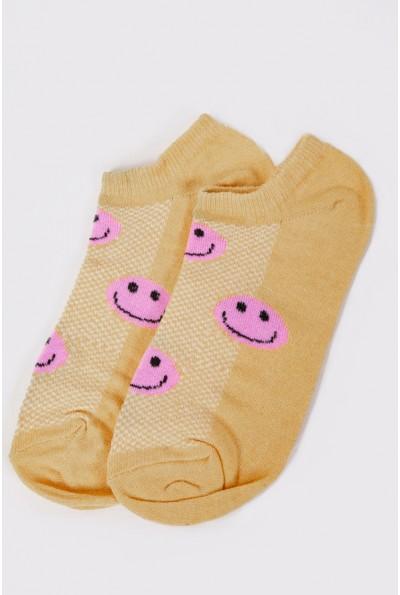 Носки женские короткие 151R102 цвет Желтый 56888