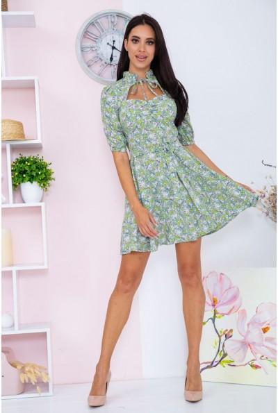 Платье  цвет оливковый 104R0040 67114