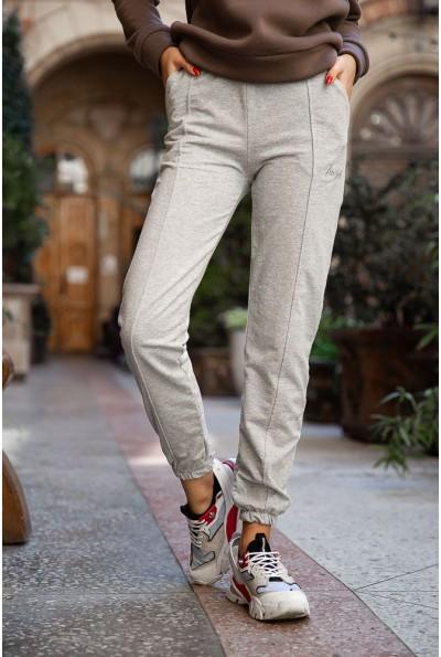 Спорт брюки женские 131R0057-4 цвет Серый