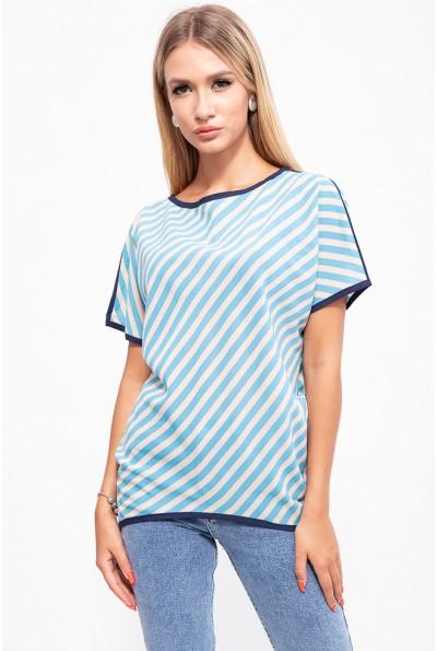 Блузка 115R2402-5 цвет Сине-голубой