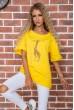 Купить Футболка женская  цвет темно-желтый 102R210 63371