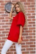 Футболка женская  цвет красный 102R210 стоимость