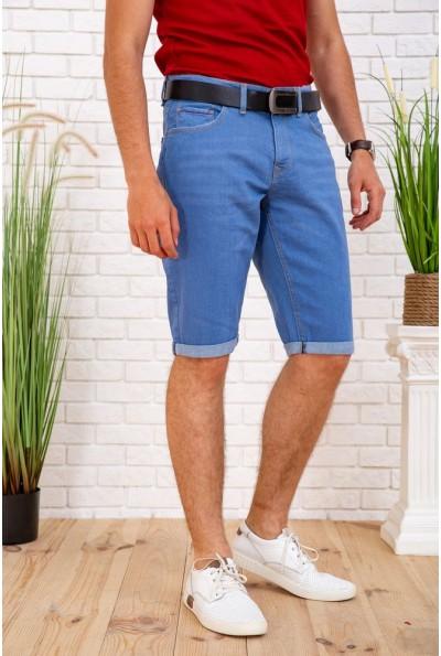 Мужские джинсовые шорты голубые 129R1950 57767