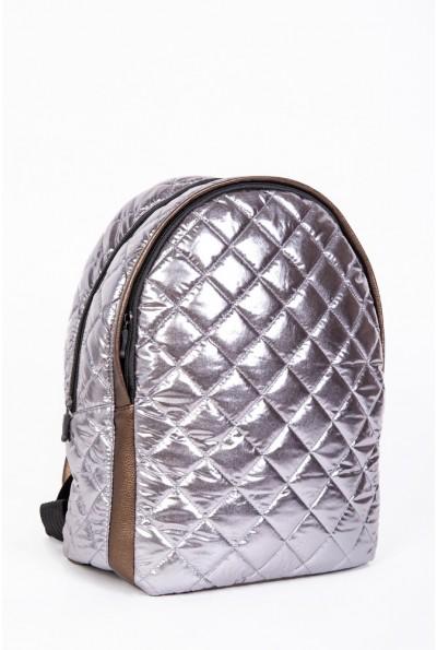 Рюкзак женский стеганый  154R003-45-11 цвет Бронзовый 56958