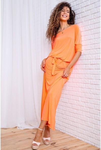 Платье  цвет светло-оранжевый 167R3-6 62268