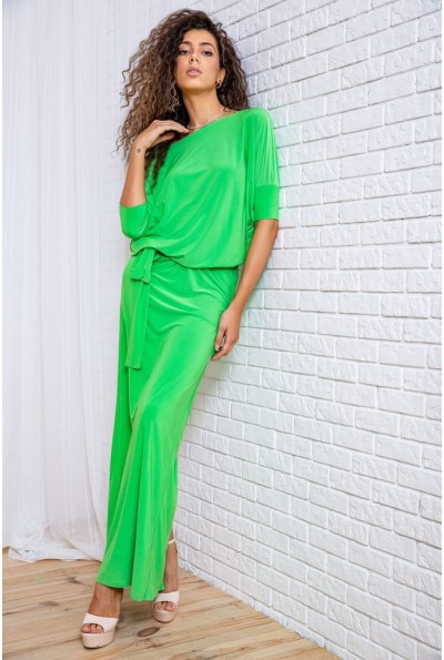 Платье  цвет светло-зеленый 167R3-6 62266