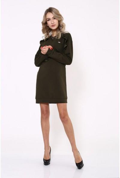 Платье 112R475 цвет Хаки