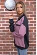 Свитшот женский  цвет серо-пудровый 102R218 стоимость
