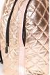 Рюкзак женский стеганый  154R003-45-11 цвет Золотистый цена 819.0000 грн