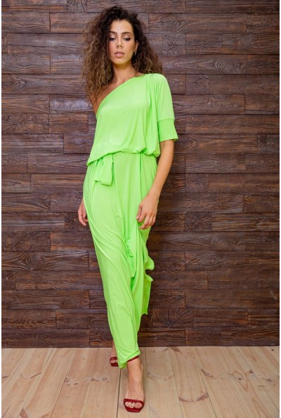 Платье 167R3-6 цвет Салатовый 62262