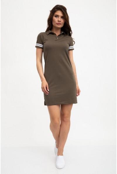 Платье женское 119R0102 цвет Хаки