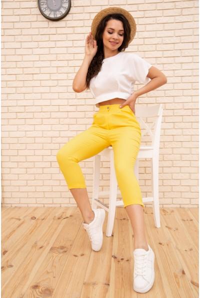 Костюм женский 167R1586-3 цвет Бело-желтый