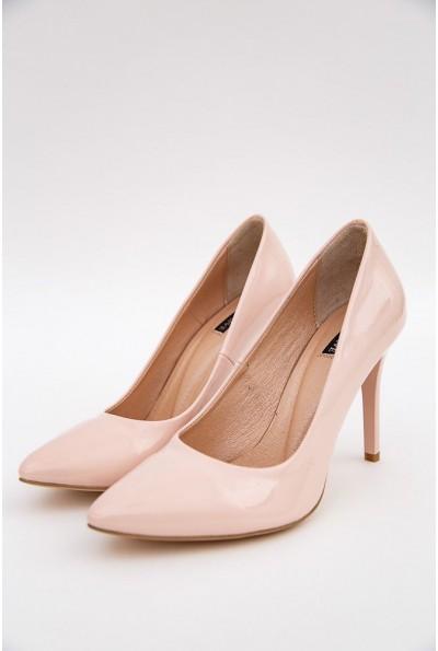 Туфли лодочки на шпильках 148R003 цвет Пудровый