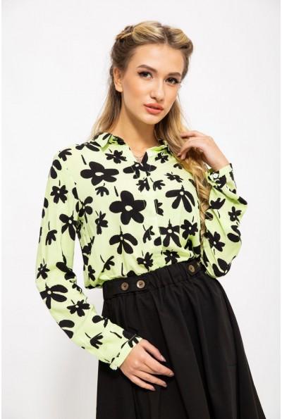 Блуза 115R119-6 цвет Желто-черный