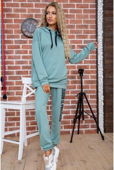 Спорт костюм женский  цвет оливковый 177R008 63485