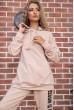 Спорт костюм женский  цвет бежевый 177R008 цена 1599.0000 грн