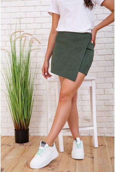 Юбка-шорты женские 102R199 цвет Зеленый 57543