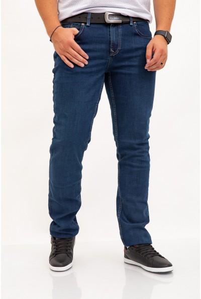 Темно-синие джинсы мужские прямые 143R003