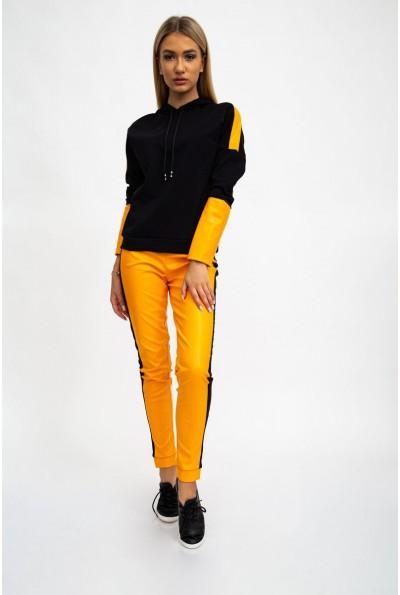 Костюм женский 119R611 цвет Черно-оранжевый