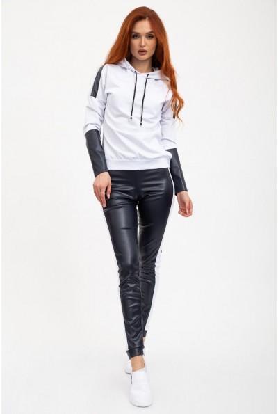 Костюм женский 119R611 цвет Бело-черный
