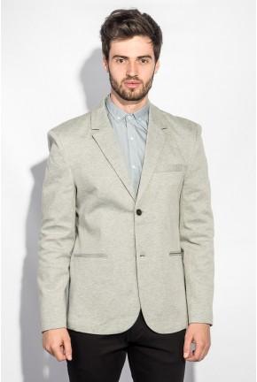 Пиджак мужской классическая модель AG-0005712 Светло-серый