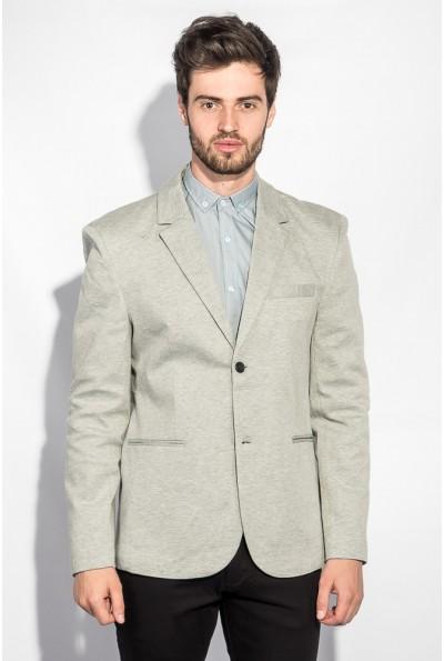 Пиджак мужской классическая модель AG-0005712 цвет Светло-серый