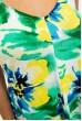 Платьеженское, летнее, зелено-желтые цветы 115R206-4 скидка