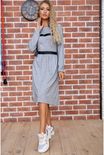 Платье  цвет серый 176R1010 63311