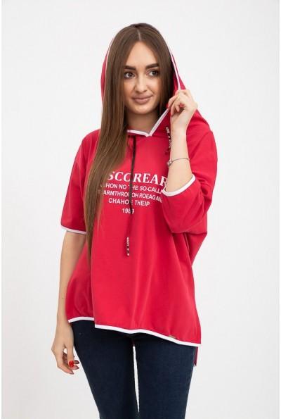 Футболка женская 133R7638 цвет Красный