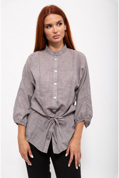 Блуза женская 115R335-1 цвет Серый
