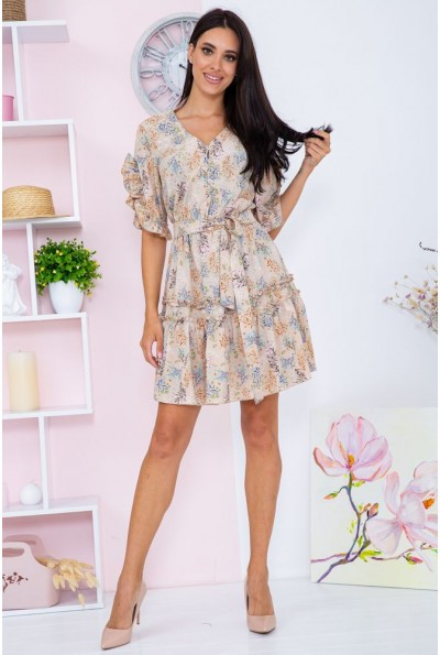 Платье женское  цвет бежевый 104R0022 67090