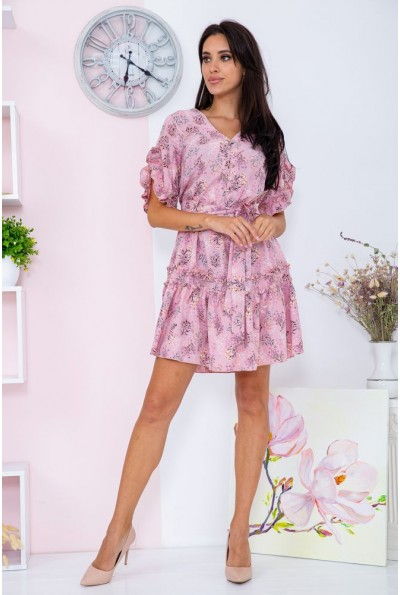 Платье женское  цвет розовый 104R0022 67092