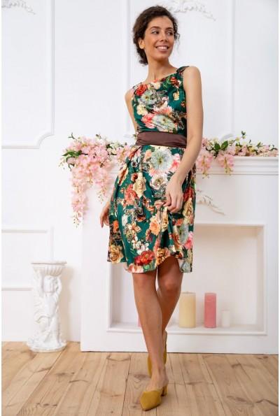 Платье  цвет зелено-коричневый 167R0117 59380