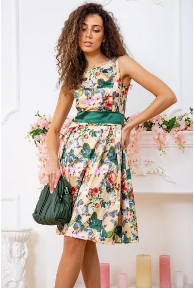 Платье 167R0117 цвет Золотисто-зеленый 59386