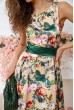 Платье 167R0117 цвет Золотисто-зеленый скидка