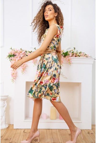 Платье 167R0117 цвет Золотистый 59388
