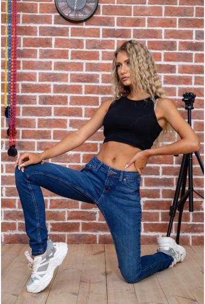 Стильные женские джинсы темно-синие 129R1942 63535