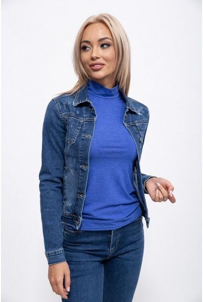 Джинсовая куртка мужская 123R17585 цвет Синий