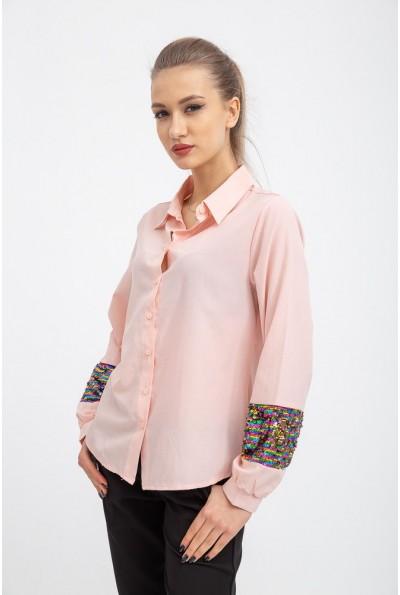 Рубашка женская 103R070 цвет Персиковый