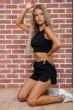 Купить Костюм  женский  цвет черный 176R1034 63331