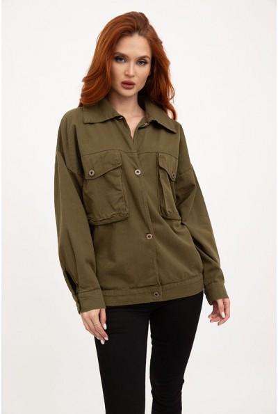 Куртка женская 103R190 цвет Хаки
