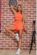 Купить Костюм  женский  цвет оранжевый 176R1034 63327
