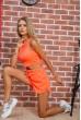 Костюм  женский  цвет оранжевый 176R1034 недорого
