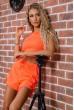 Костюм  женский  цвет оранжевый 176R1034 скидка
